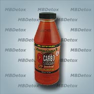 QCARBO Fast Cleansing Formula. Orange Flavor.