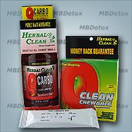 FAST THC MARIJUANA DETOX KIT for people under 200 lb.