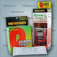 Fast COC Cocaine Detoxication Kit for people under 200 lb
