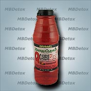 QCARBO PLUS WITH BOOSTER. Strawberry-Mango flavor.